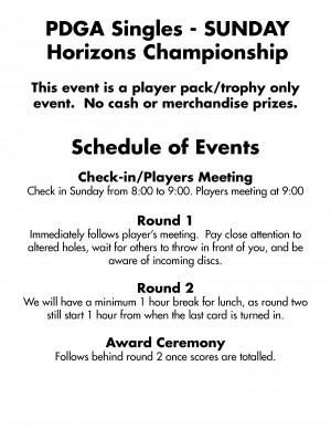 Horizon's Championship 2019 - Driven by Innova graphic