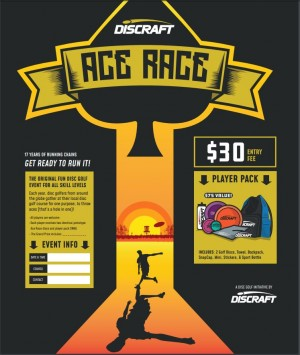 2019 Discraft Ace Race graphic