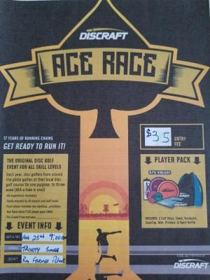East Coast Eagles Ace Race graphic