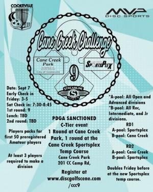 Cane Creek Challenge 9 graphic