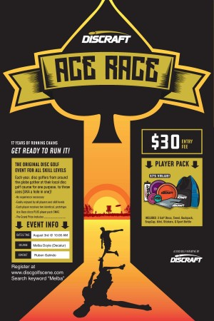 Discraft Ace Race @ Melba graphic