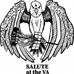 Salute at the VA Ignited by Nashville Disc Golf Store graphic