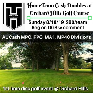 HomeTeam Cash Doubles at Orchard Hills Golf Course graphic