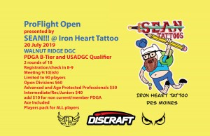 ProFlight Open presented by Sean!!! @ Iron Heart Tattoo graphic