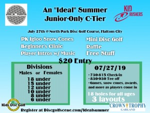 """An """"Ideal"""" Summer, Junior Only C-Tier graphic"""