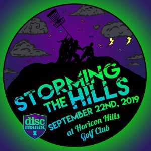Storming The Hills - BYOP Doubles - Sponsored By Discmania & Presented by Groundpie graphic