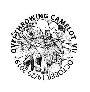 Over-Throwing Camelot VII - PDGA C Tier Sanctioned Singles - Sponsored by Dynamic Discs graphic