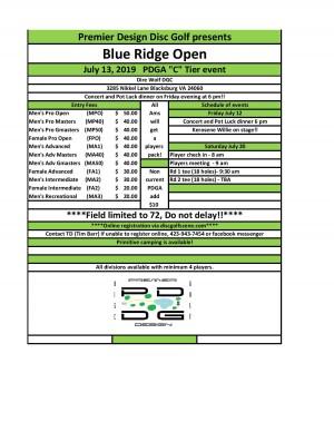 Blue Ridge Open graphic