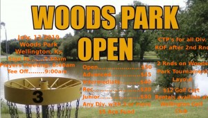 Woods Park Open graphic