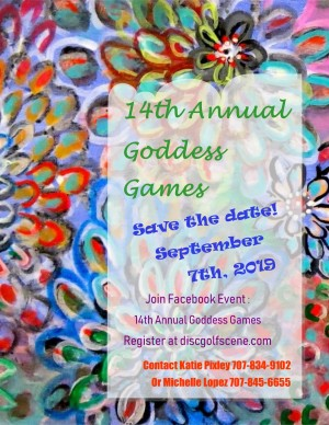 14th Annual Goddess Games graphic