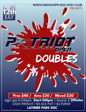 Patriot Open Doubles (Byop) graphic