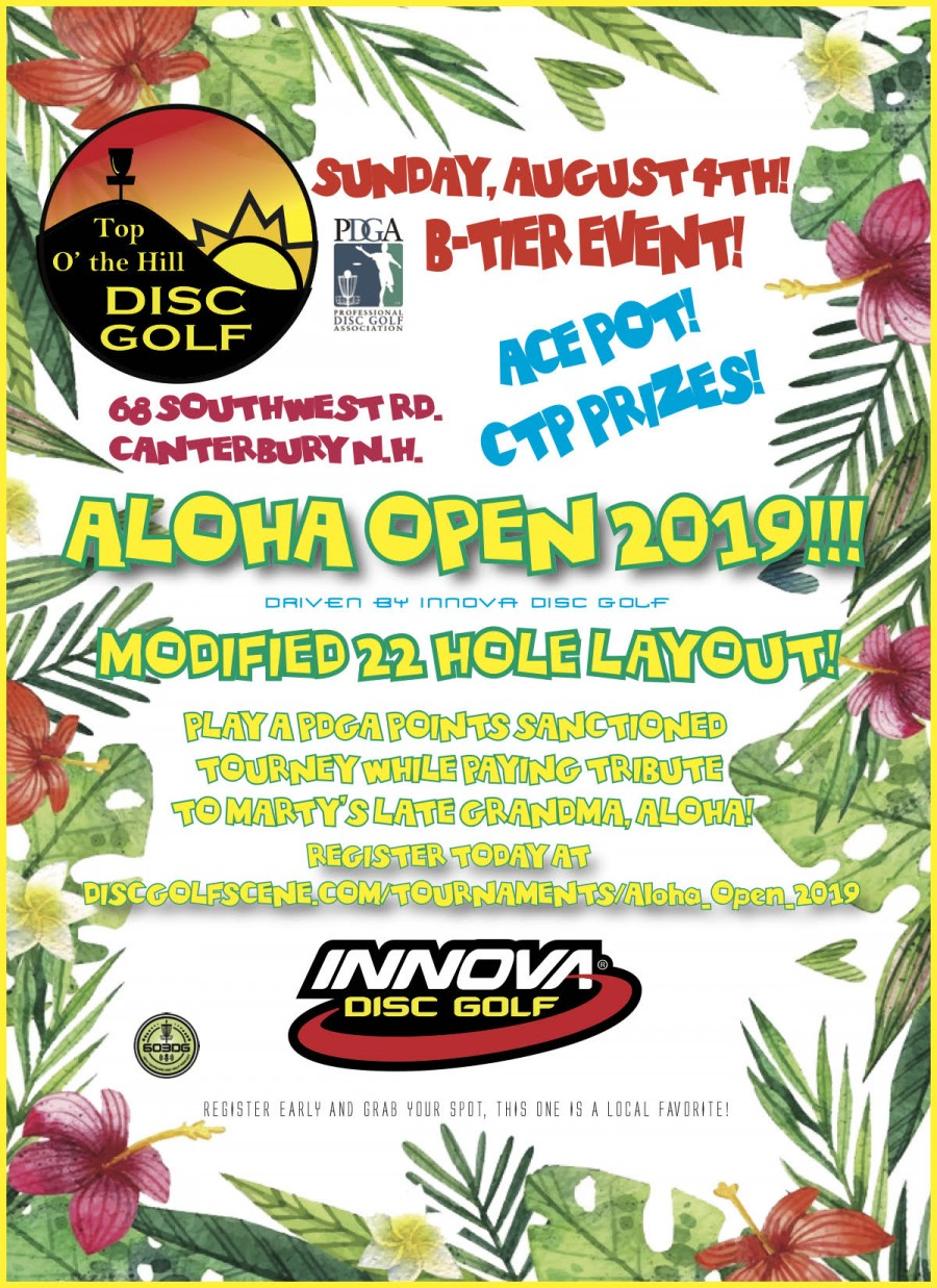 Aloha Open (2019, Marty Vaughn) · Disc Golf Scene