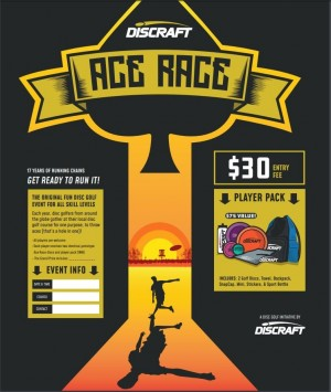 D.G.F.J.  DISCRAFT ACE RACE (8TH ANNUAL) graphic