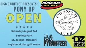 Pony Up Open graphic