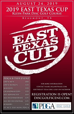 2019 East Texas Cup graphic