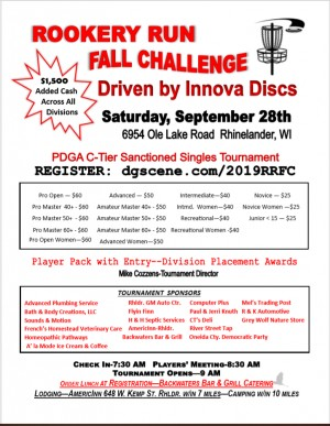 Rookery Run Fall Challenge graphic