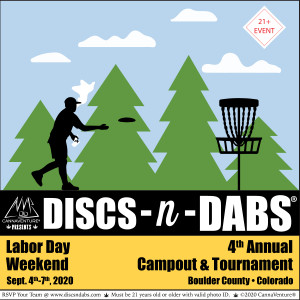 Discs-n-Dabs® 2020: Tournament & Campout graphic