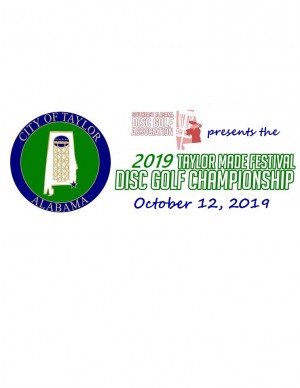 2019 Taylor Made Festival Disc Golf Championship graphic