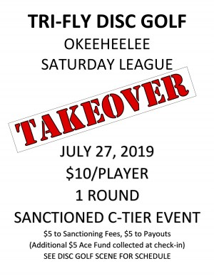 Okeeheelee League Takeover graphic