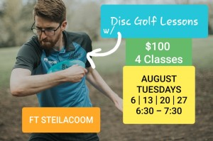 Disc Golf Lessons with Dion graphic