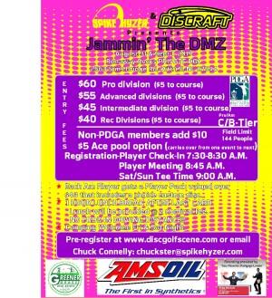Spike Hyzer's:Jammin' The DMZ graphic