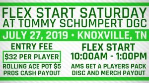 Flex Start Saturday @ Tommy Schumpert -presented by DynamicDiscs graphic