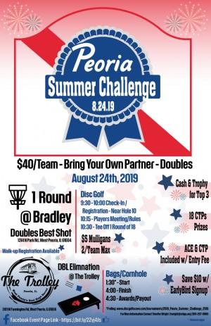 2019 Peoria Summer Challenge graphic