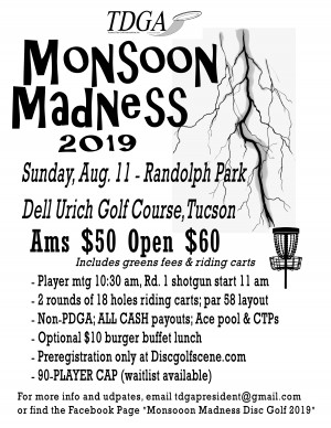 Monsoon Madness 2019 graphic
