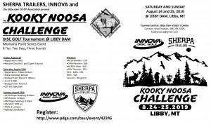 Kooky Noosa Challenge graphic