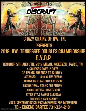 2019 NORTHWEST TENNESSEE DOUBLES CHAMPIONSHIP graphic