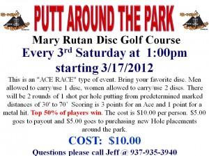 """Putt Around the Park 2"" graphic"