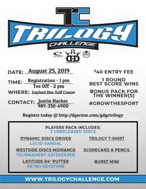 G.D.G.C. Trilogy Challenge 2019 graphic
