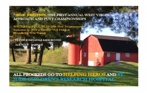 First Annual West Virginia Approach and Putt Championships graphic
