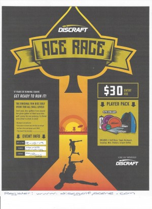 Discraft Ace Race at Hawk's Landing Disc Golf Course graphic