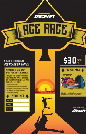 Nice Disc Golf's: Amarillo, TX Ace Race graphic