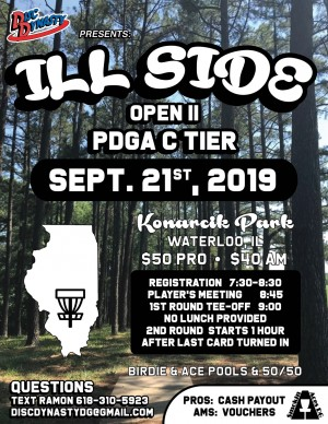 Disc Dynasty presents the ILL Side Open II graphic