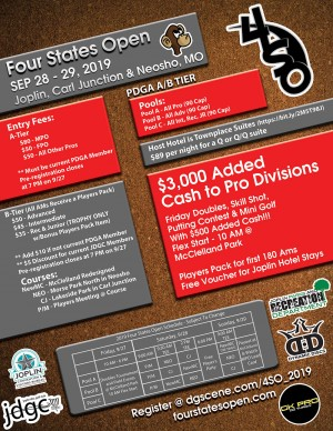 14th Annual Four States Open graphic