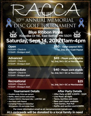 Racca Memorial 10th Anniversary graphic