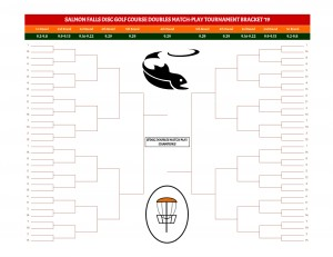 Salmon Falls Doubles Match Play Bracket graphic