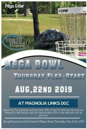 Mega Bowl Thursday Flex Start graphic