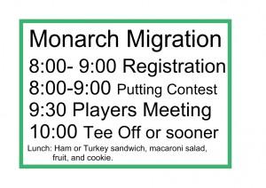 Monarch Migration Poppy Series Championships graphic