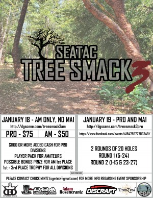 SeaTac Tree Smack 3 (AM, No MA1) graphic