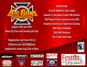 JCS 2019 Big Guns Showdown graphic