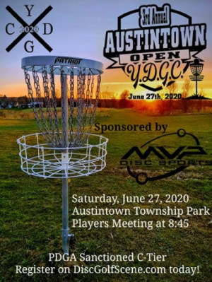 3rd Annual Austintown Open graphic