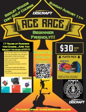 Sedgley Woods Ace Race graphic