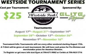 Westside DGC Tournament Series #3 graphic