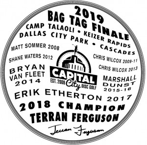 2019 CCDG Bag Tag Finale graphic