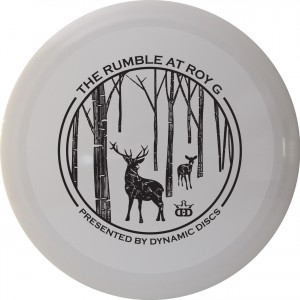 The Rumble at Roy G Presented by Dynamic Discs - A GDG $5K/$10K Event graphic