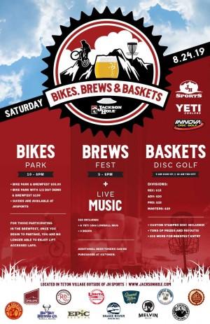 Bikes, Brews, & Baskets graphic