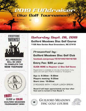 Guilford Meadows Fundraiser Tournament graphic